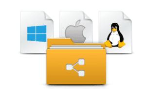 Cross-platform File Sharing