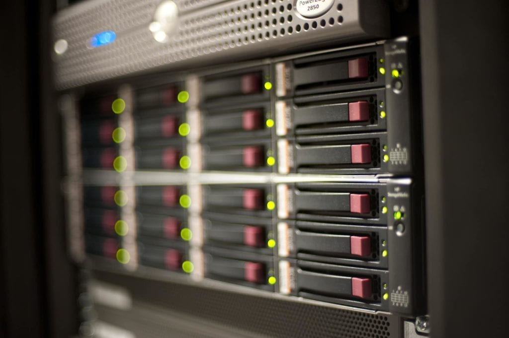 Network hardware runs DLS' cloud pbx systems