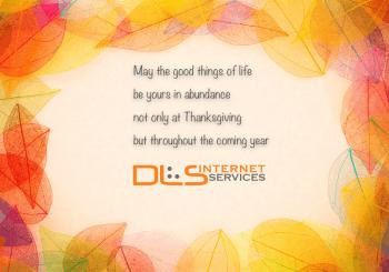 DLS Thanksgiving message