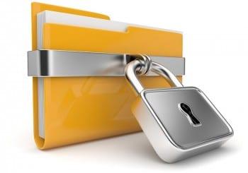 Locked file image