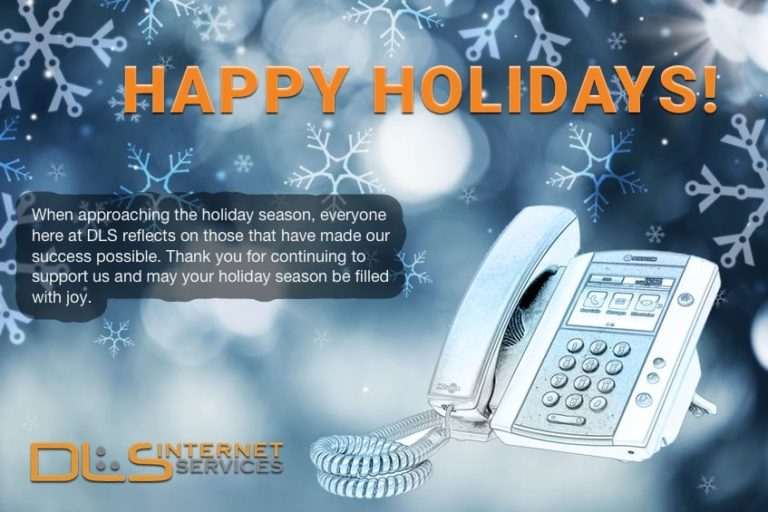 Happy Holidays from DLS!