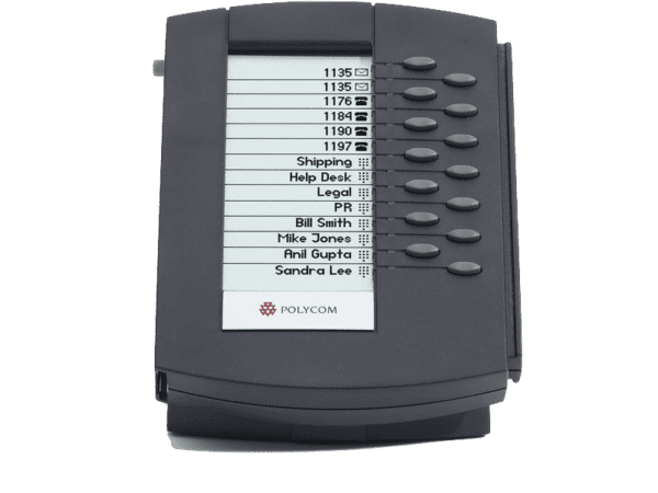 Polycom SoundPoint IP 650 Backlit Expansion Module