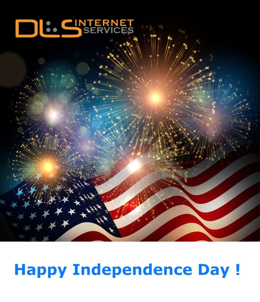 Happy Independence Day from All of us at DLS
